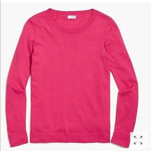 J. Crew Cotton/ Wool Teddie Sweater